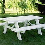 PVC Picnic Tables
