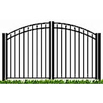 VANGUARD Aluminum Double Arch Gate