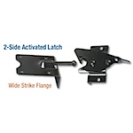 2-Side Activated Latch - Wide Strike Flange